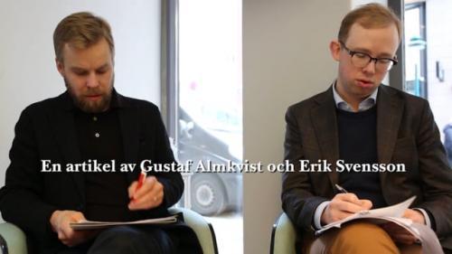 """Gustaf Almkvist och Erik Svensson om artikeln """"Orsakande, tillräknande och luftstrupstransplantationer"""""""